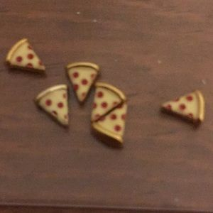 Origami owl pizza charms